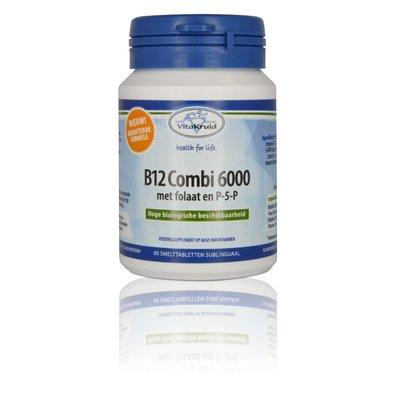 Vitakruid B12 Combi 6000 met folaat en P-5-P